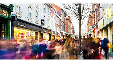Beliebteste Einkaufsstraßen Deutschlands 2016